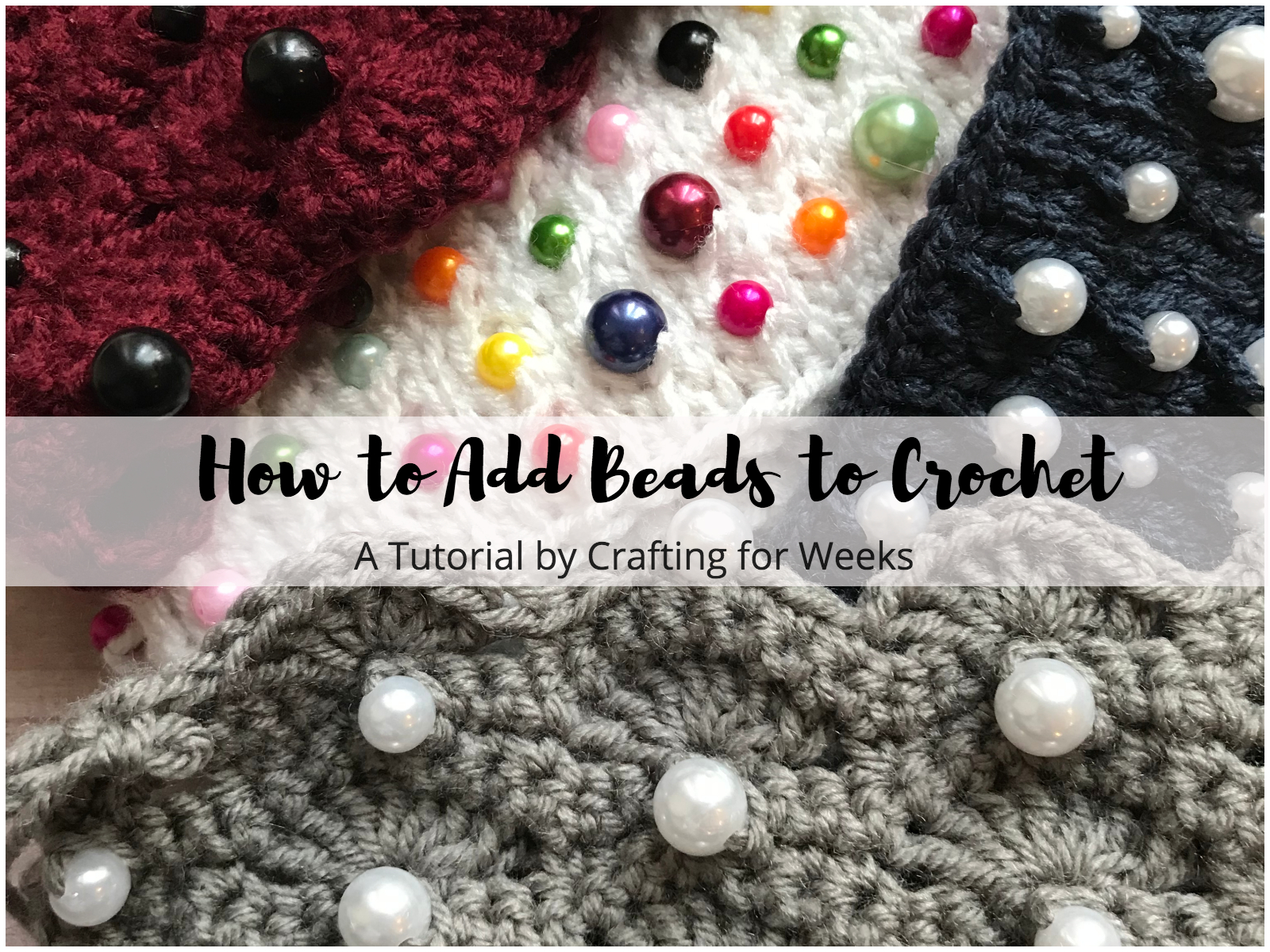How To Add Beads To Crochet Without Pre Stringing Crafting For Weeks